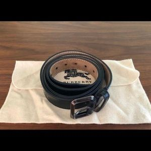 Women's Burberry leather belt size 95